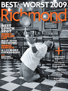 August cover of Richmond Magazine