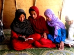 Children in Afghanistan study and hope for a brighter future.