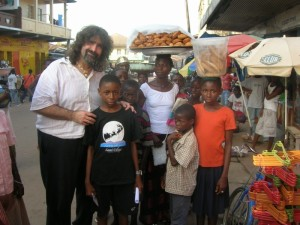 Mick and sponsored child SL