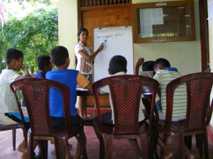ChildFund programs at work in Sri Lanka