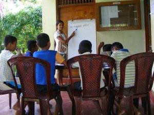 ChildFund programs at work in Sri Lanka