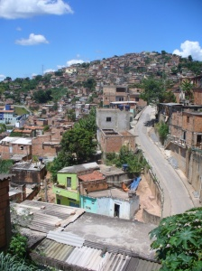 Favela Brazil urban slum poverty