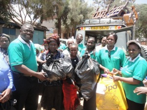 ChildFund Kenya Mukuru fire