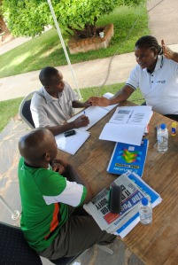 ChildFund Zambia and partner staff receive DRR training