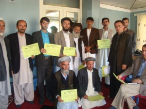 Afghanistan Childfund Gender-awareness training