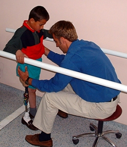 physical therapist in Haiti