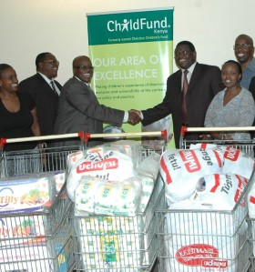 ChildFund receives food donations