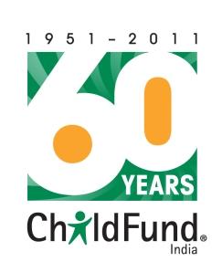 ChildFund India's 60th anniversary logo