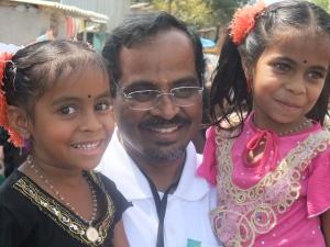 Dola with children