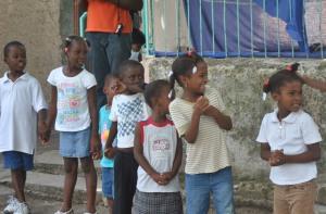 Photo Haitian children