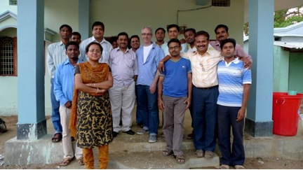 Photo of ChildFund India staff