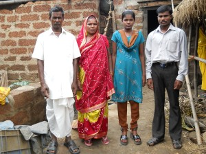 Photo of Fulla with her family