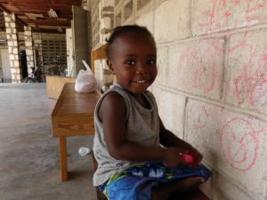photo of Haitian child