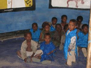 Photo of children  in Feto ECD