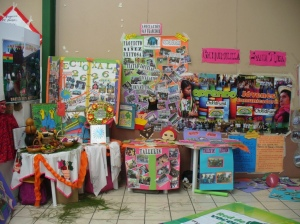 Photo of youth booths at conference