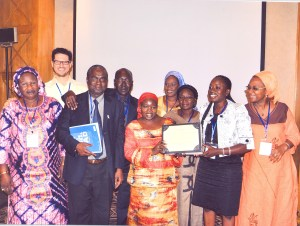 Senegal group celebrates award