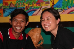 youth and ChildFund Australia staff