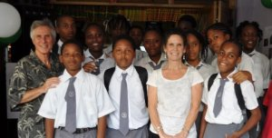 Students in Dominica