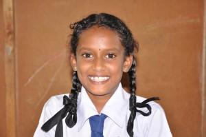 Sri Lankan student