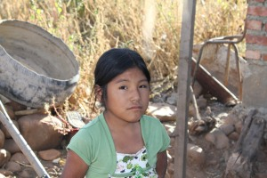 girl from Bolivia
