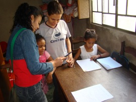 children with tablet computer