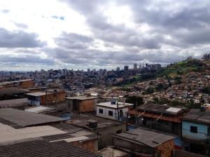 an urban slum