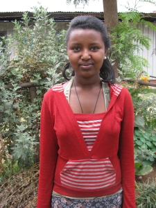 Ethiopian teen