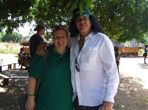 ChildFund Director of Communications and Gene Simmons