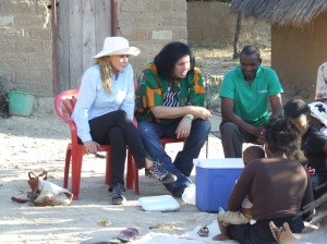 Shannon and Gene Simmons in Zambia