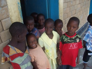 Children at ECD Center
