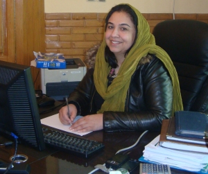 Palwasha Hassan, National Director, ChildFund Afghanistan