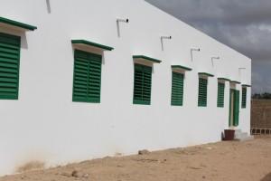 A new classroom building