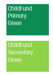 ChildFund green.