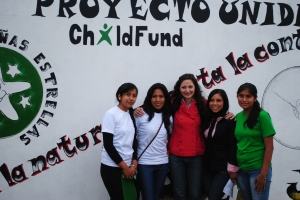 Members of a youth group in Tarija.