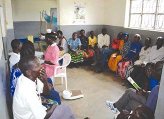 women and men in classroom