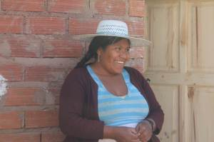 Bolivian mother