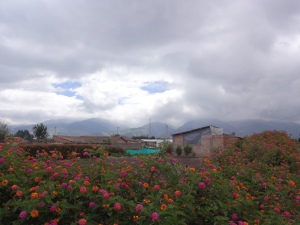 House in remote area of Ecuador