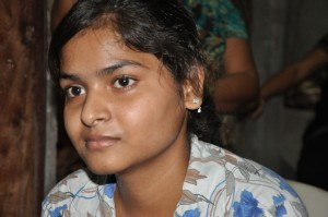 Teenage girl from India