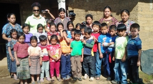 group of Guatemalan children